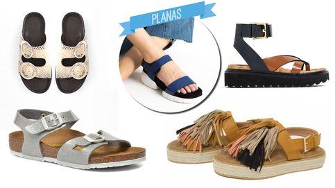 Estas son las sandalias que no te vas a quitar este verano