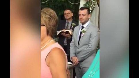 La desmesurada reacción de un novio al ver llegar a su mujer al altar
