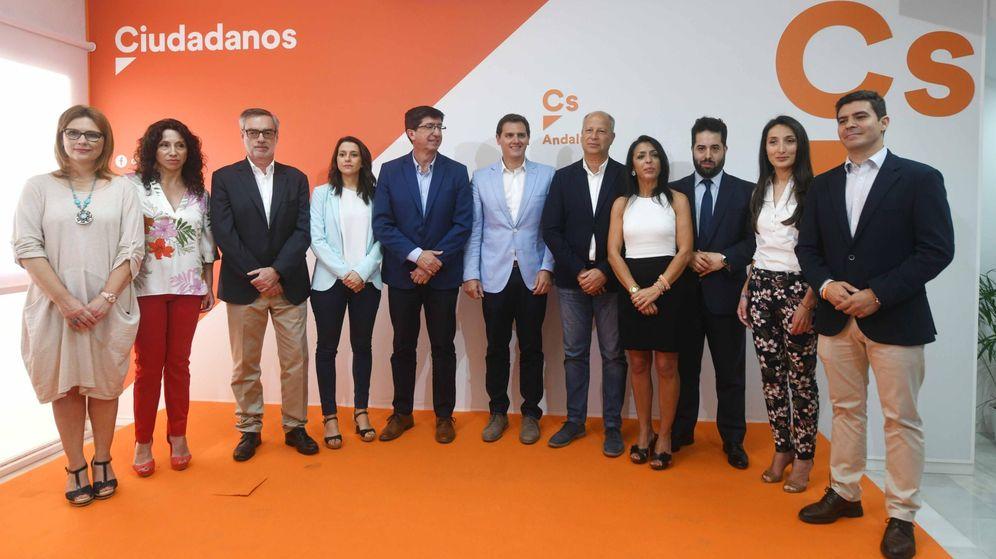 Foto: Ciudadanos presenta los candidatos a las elecciones de Andalucía (Efe)