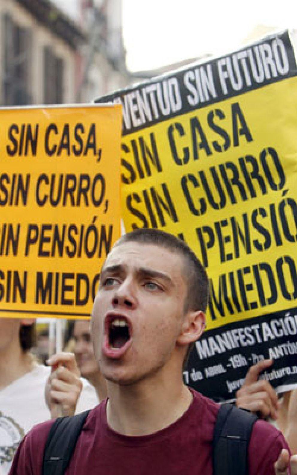 Foto: Seis de cada diez jóvenes quieren irse de España para encontrar trabajo
