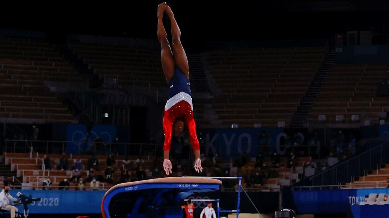 Simone Biles ha ganado seis medallas olímpicas. (EFE)