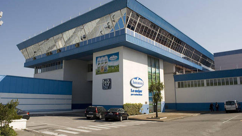 Una de las fábricas de Central Lechera Asturiana, propiedad de Capsa Food.