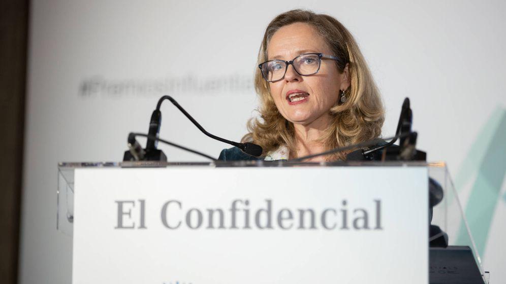 Foto: Nadia Calviño, vicepresidenta tercera del Gobierno y ministra de Asuntos Económicos y Transformación Digital. (EC)
