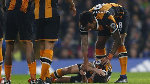 Mason, estable tras la fractura de cráneo sufrida por un brutal choque con Cahill