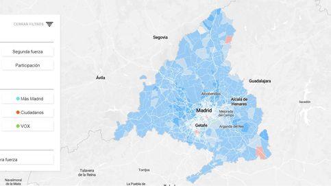 Los resultados de las elecciones de Madrid, calle a calle: ¿a quién han votado en tu barrio?