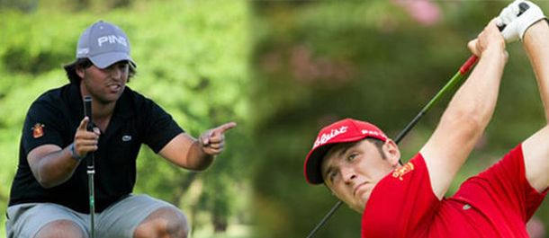 Foto: Jon Rahm y Mario Galiano son la esperanza del golf español