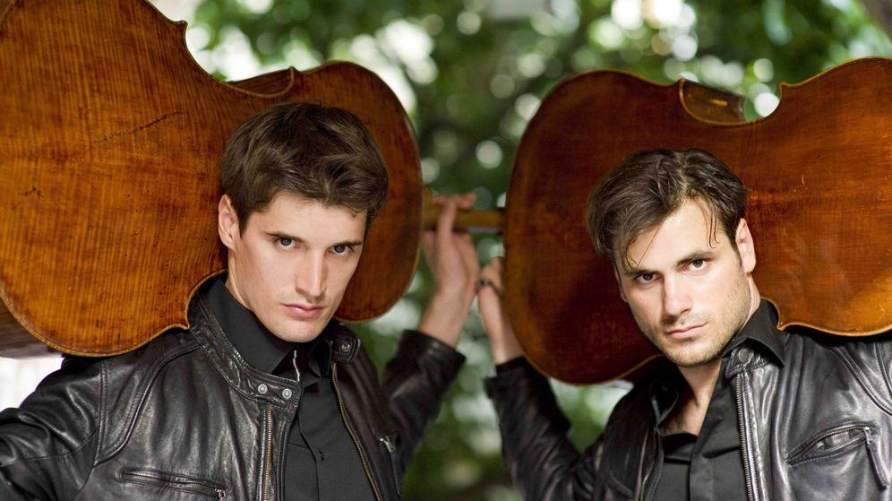 Foto: El dúo croata de violonchelo 2Cellos