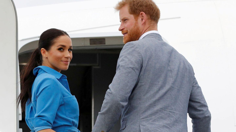 El príncipe Harry y Meghan Markle en una imagen de archivo. (Reuters)