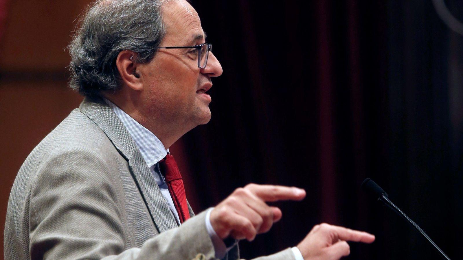 Foto: El 'president' de la Generalitat. (EFE)