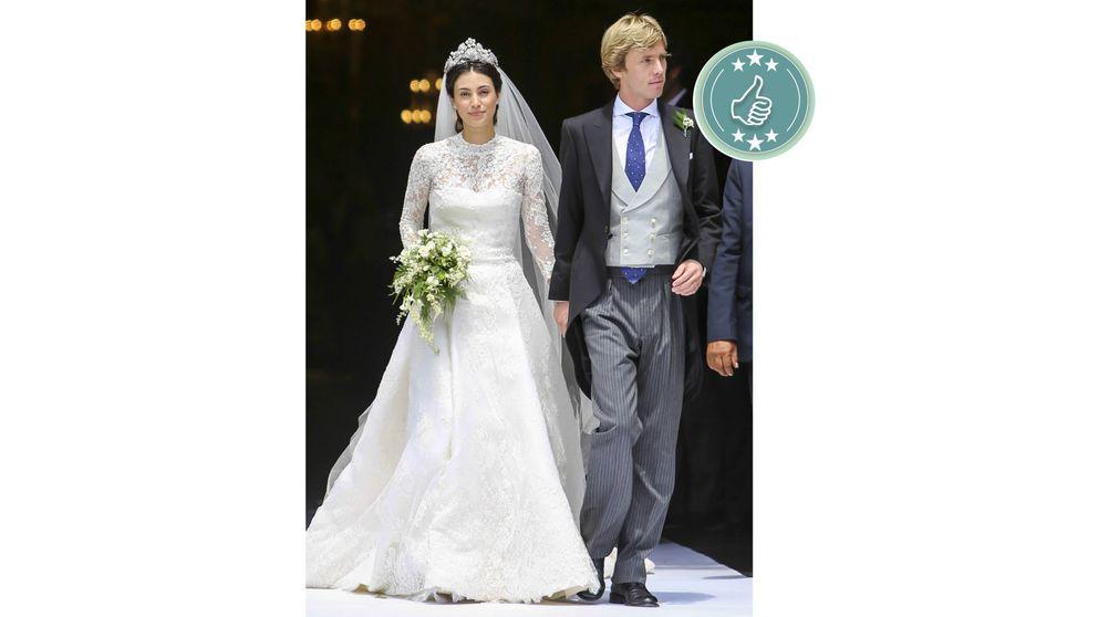 De Alexandra de Hannover a Tamara Falcó: las mejor y peor vestidas de la boda de Christian y Sassa de Hannover