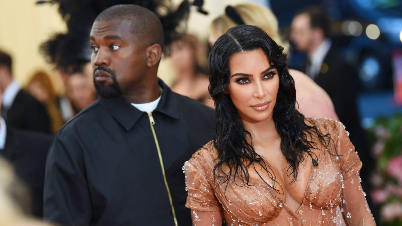 Kim Kardashian y Kanye West, en una imagen de archivo. (Getty)