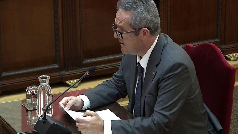Foto: El exconseller de Interior Joaquim Forn en el juicio del 'procés'. (EFE)
