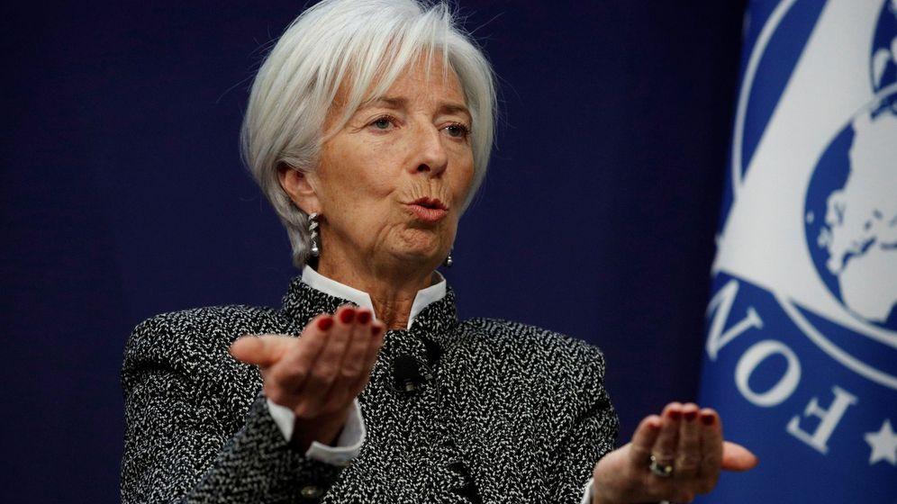 Foto: La directora del Fondo Monetario Internacional, Christine Lagarde (Efe)