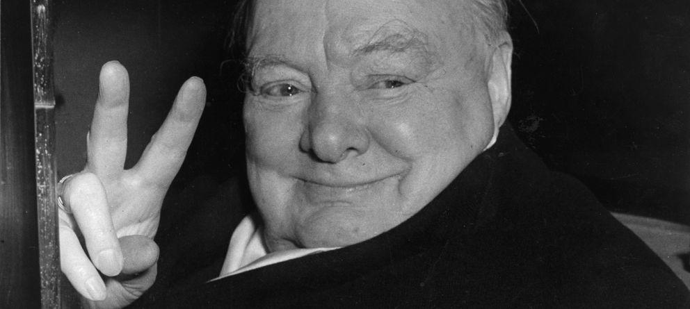 Foto: El ex Primer Ministro británico Winston Churchill.