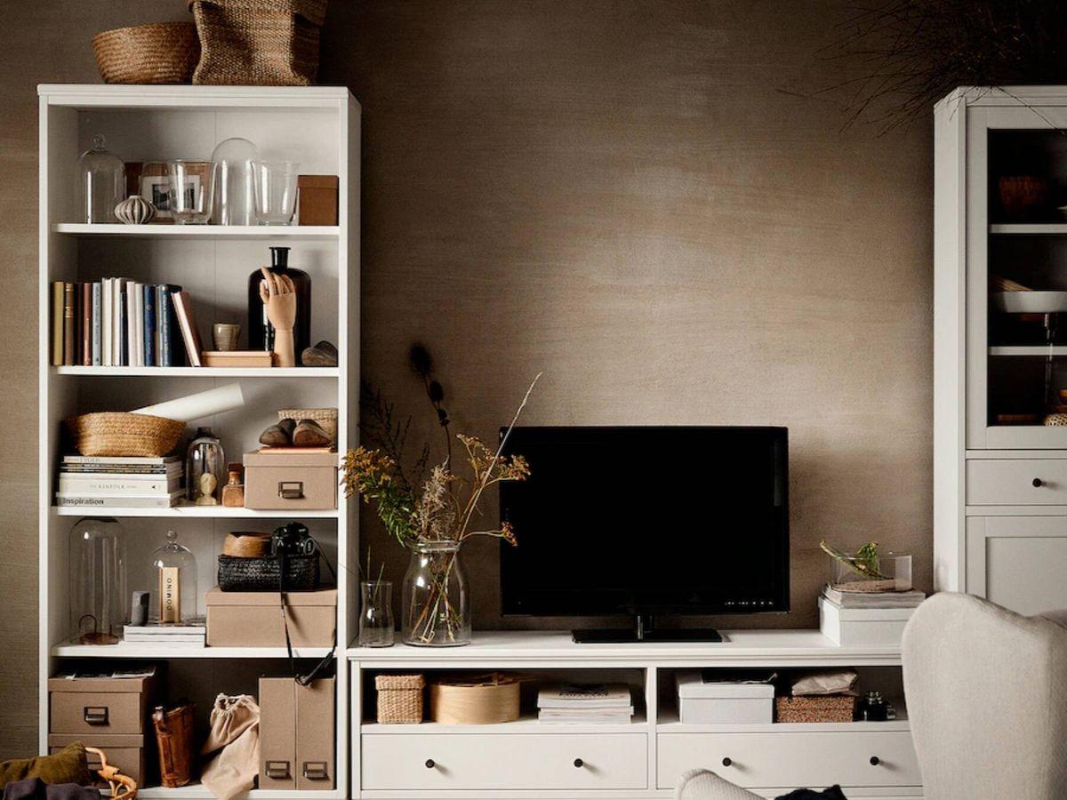 Foto: Esta estantería es el nuevo mueble de Ikea ideal para salones pequeños. (Cortesía)