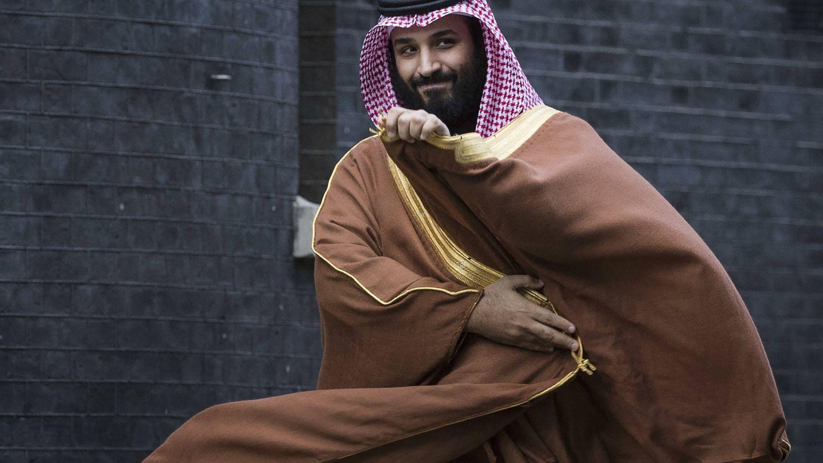 Foto:  Mohamed bin Salman, príncipe herdero de Arabia Saudita. (Getty)