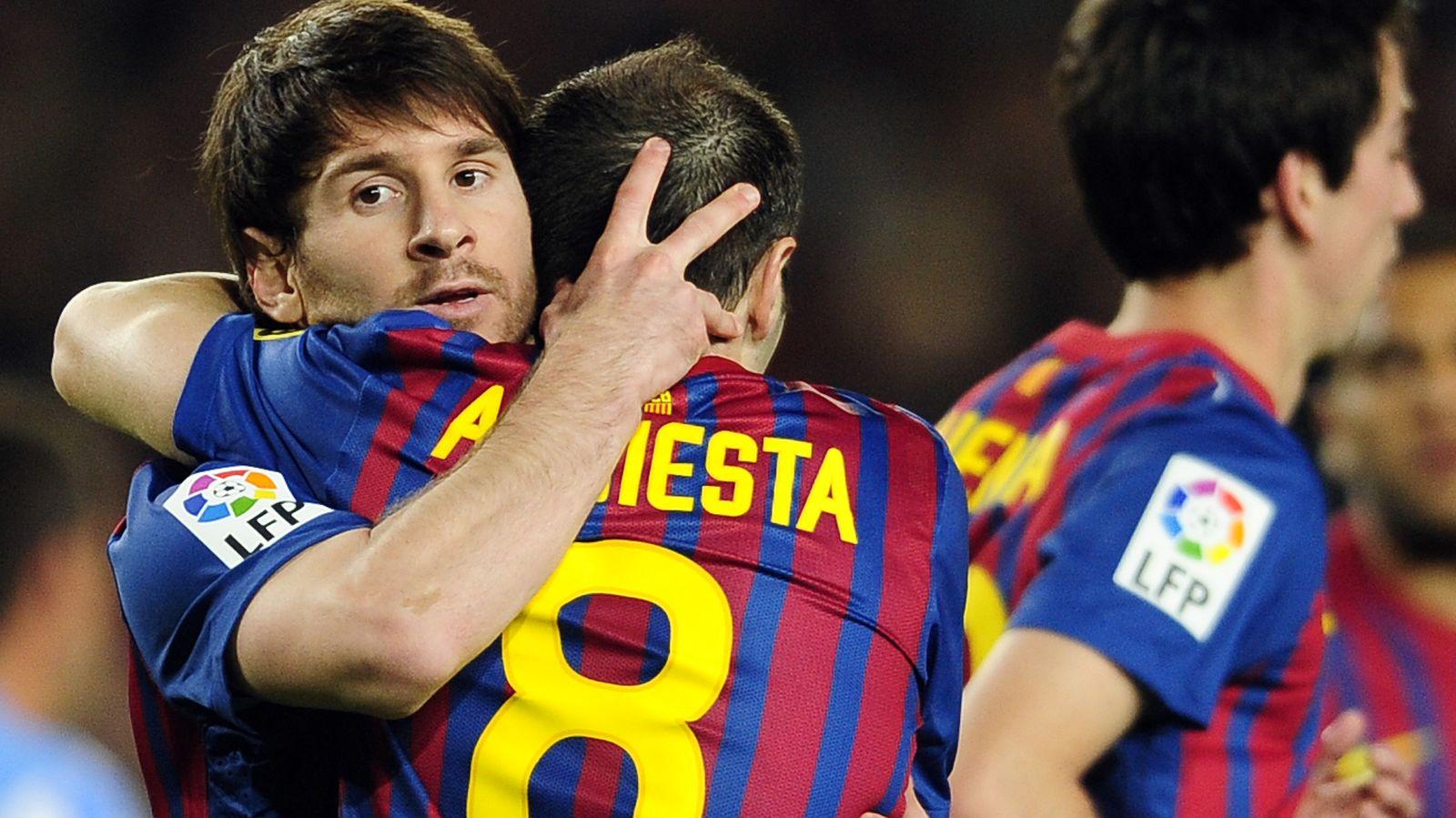 Foto: Lionel Messi y Andrés Iniesta, en una imagen de archivo (Gtres)