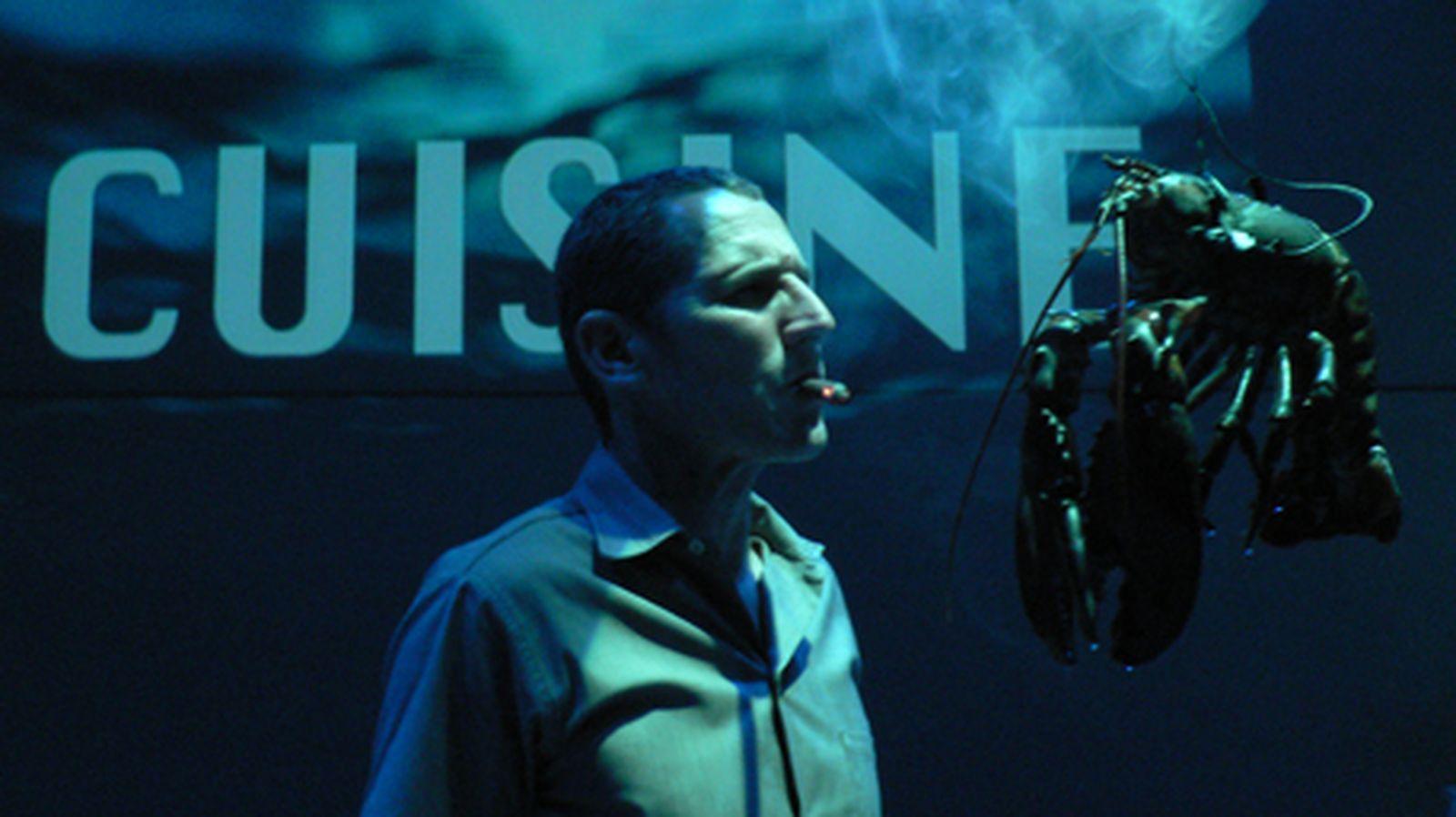 Foto: 'Accidens. Matar para comer', la performance de Rodrigo García