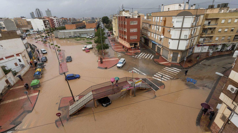Foto: Las lluvias inundan el Levante y Murcia, en imágenes