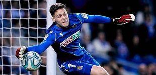 Post de Las presiones que Álex Remiro sufrió en el Athletic (y su dulce exilio en la Real)