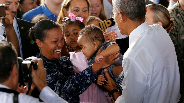 Homenaje de Obama a sus 'socios' militares: Gracias por un mundo más seguro