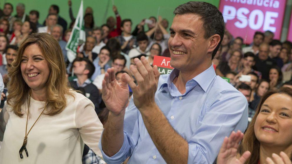 La 'guerra' por el liderazgo entre Sánchez y Díaz divide al PSOE
