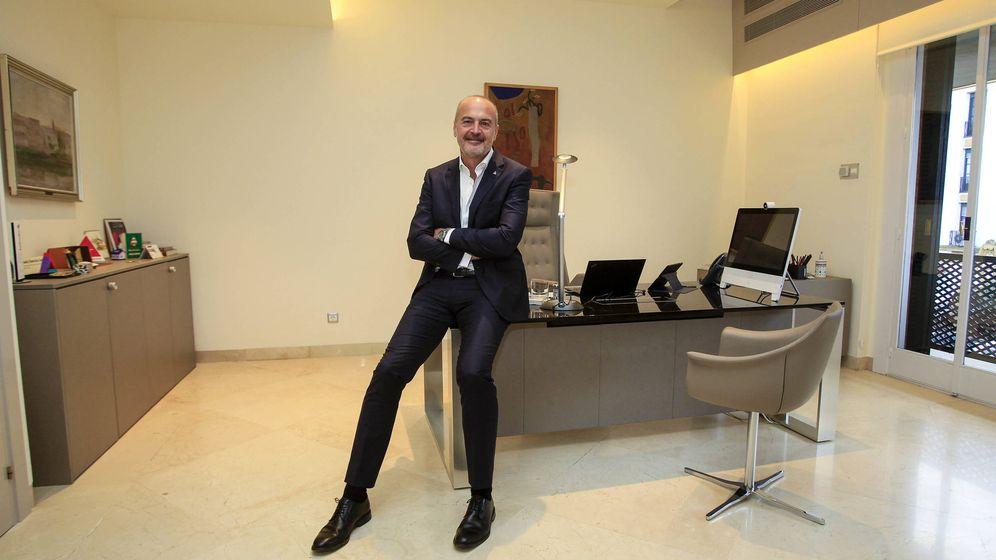Foto: Íñigo Soto-García Junco, director general de Helvetia Seguros. (Manuel Olmedo)