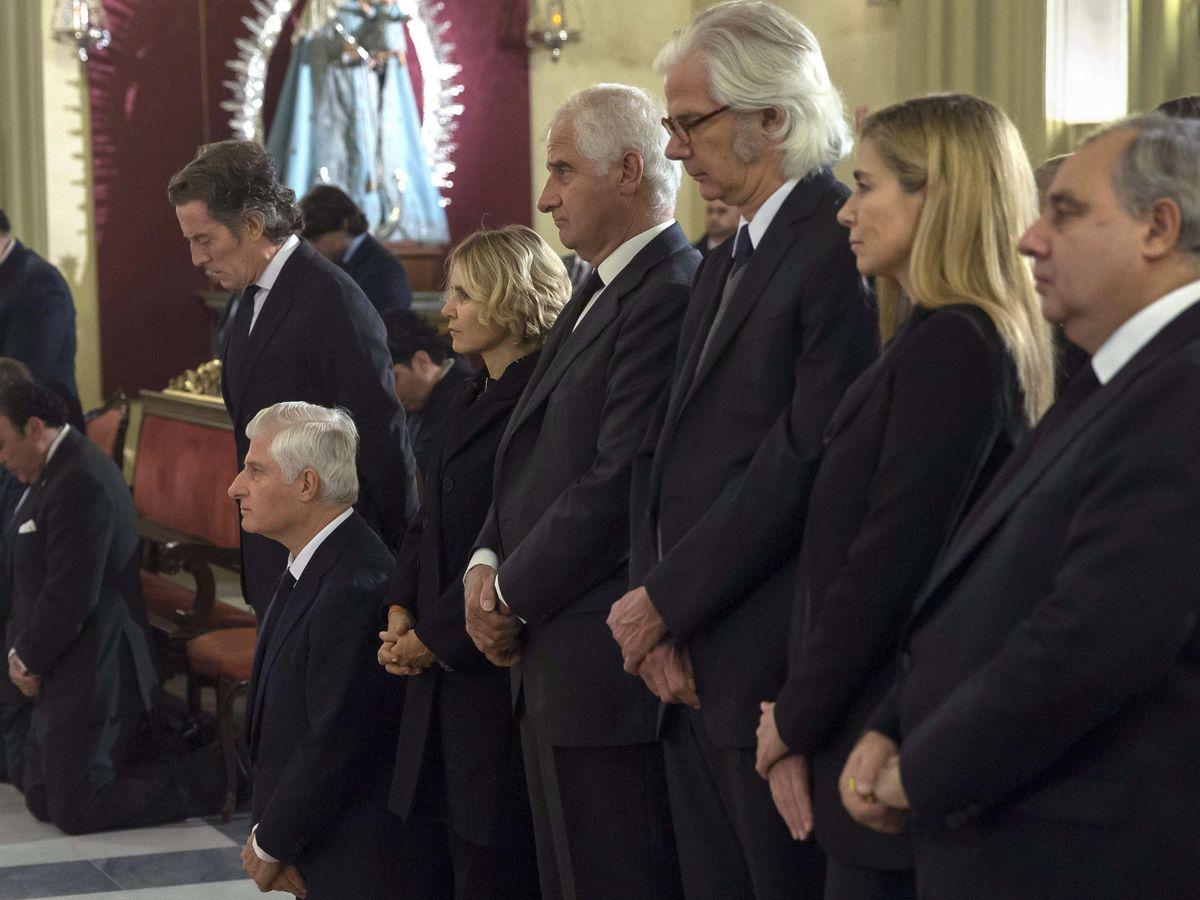 Foto: Funeral de la duquesa de Alba, Cayetana Fitz-James Stuart. (EFE)