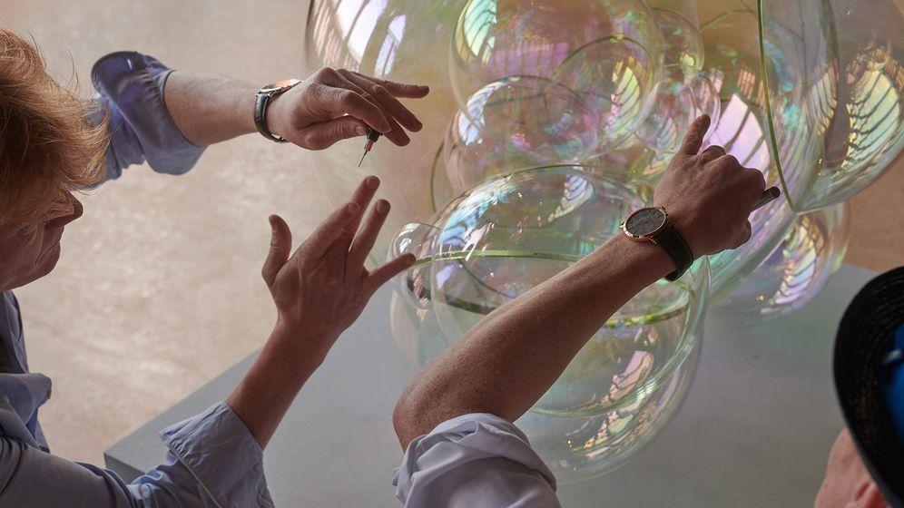 Foto: La pareja de artistas intenta capturar a través de su trabajo, la inocencia juvenil y el espíritu juguetón.
