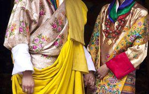 La boda del rey de Bután