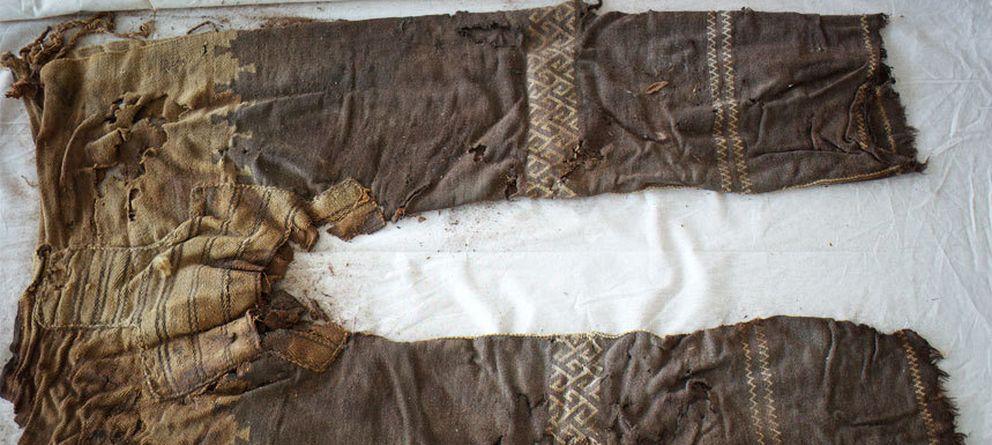 6f1cc05da5 Foto  Pantalones encontrados en la excavación en China (Instituto  Arqueológico Alemán)