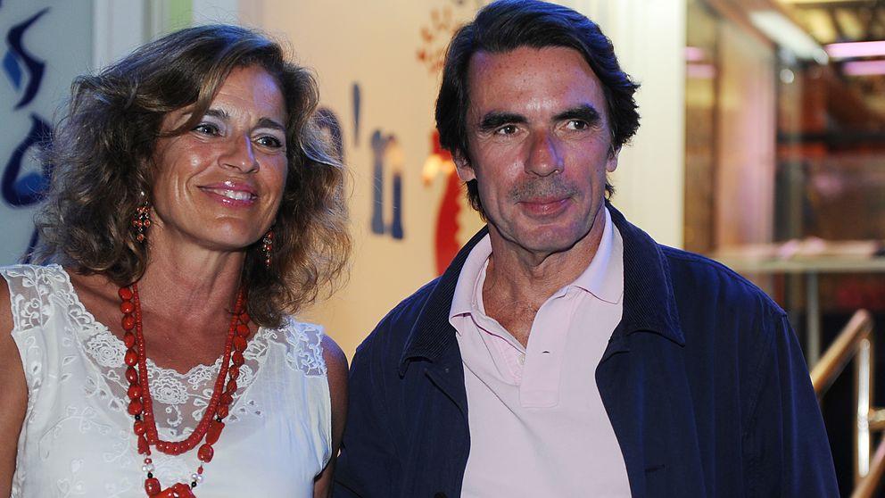 Los Aznar despiden el verano con una fiesta en su 'casoplón' marbellí