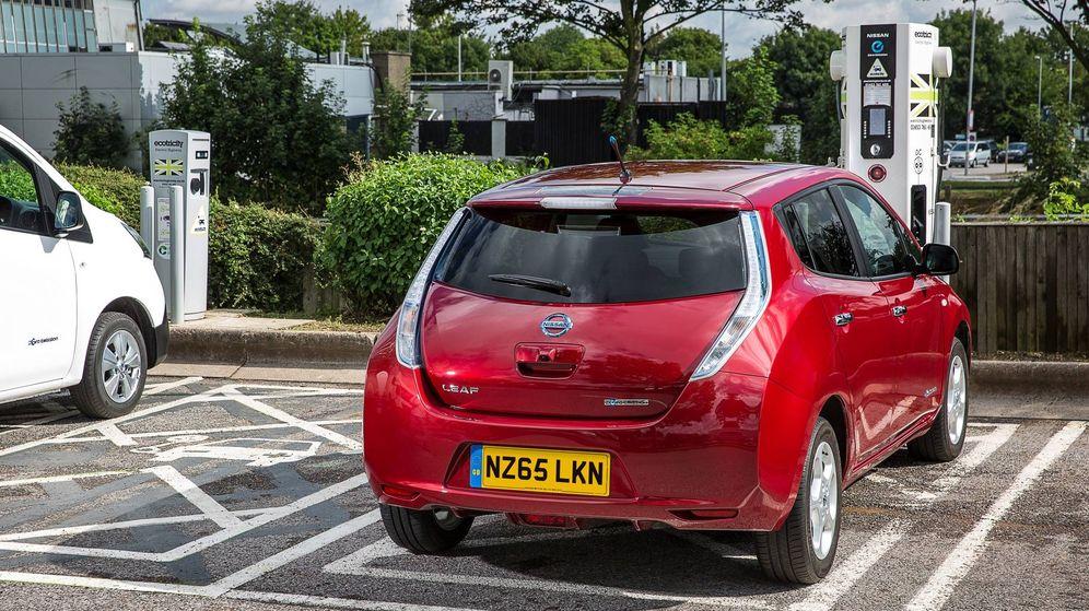 Foto: El Nissan Leaf, lidera las ventas de coches eléctricos en todo el mundo.