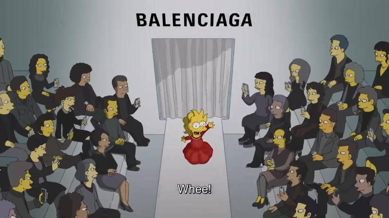 Balenciaga revoluciona París en colaboración con 'Los Simpsons'