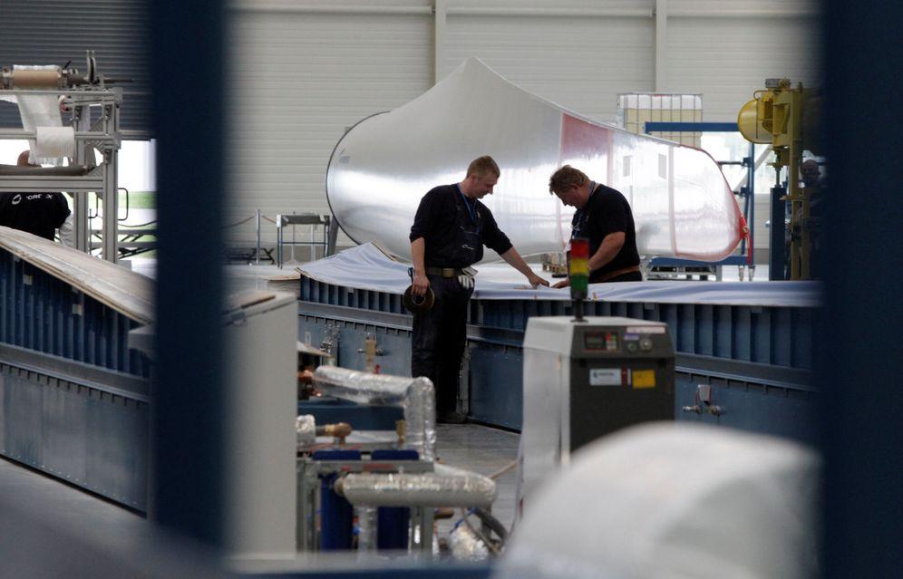 Foto: Acciona posee el 29,9% del fabricante de aerogeneradores Nordex.