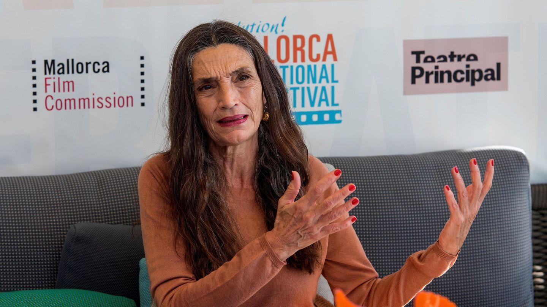 Ángela Molina, durante una rueda de prensa. (EFE)