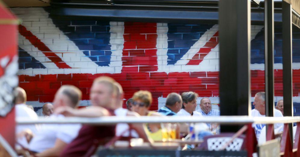 Foto: Ciudadanos británicos en costa levantina