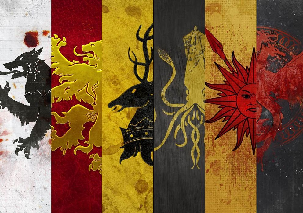 Virales las mejores versiones de juego de tronos blogs - Juego de tronos casas ...