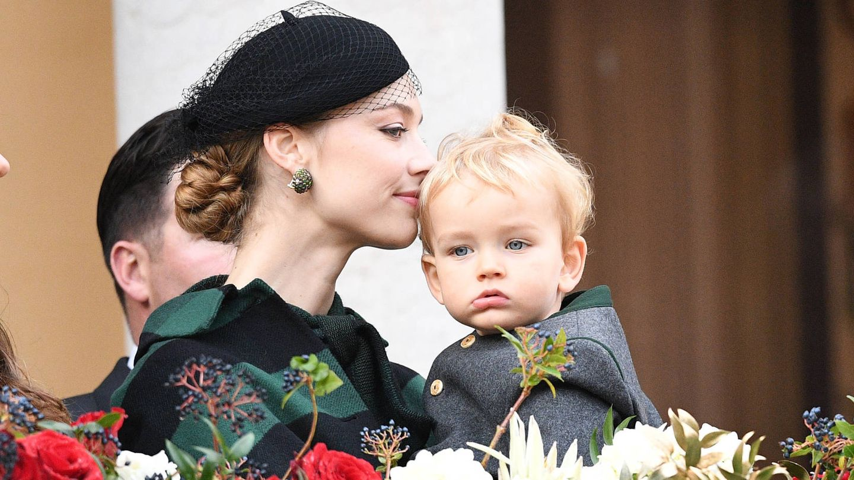 Beatrice con su hijo Francesco. (Getty)