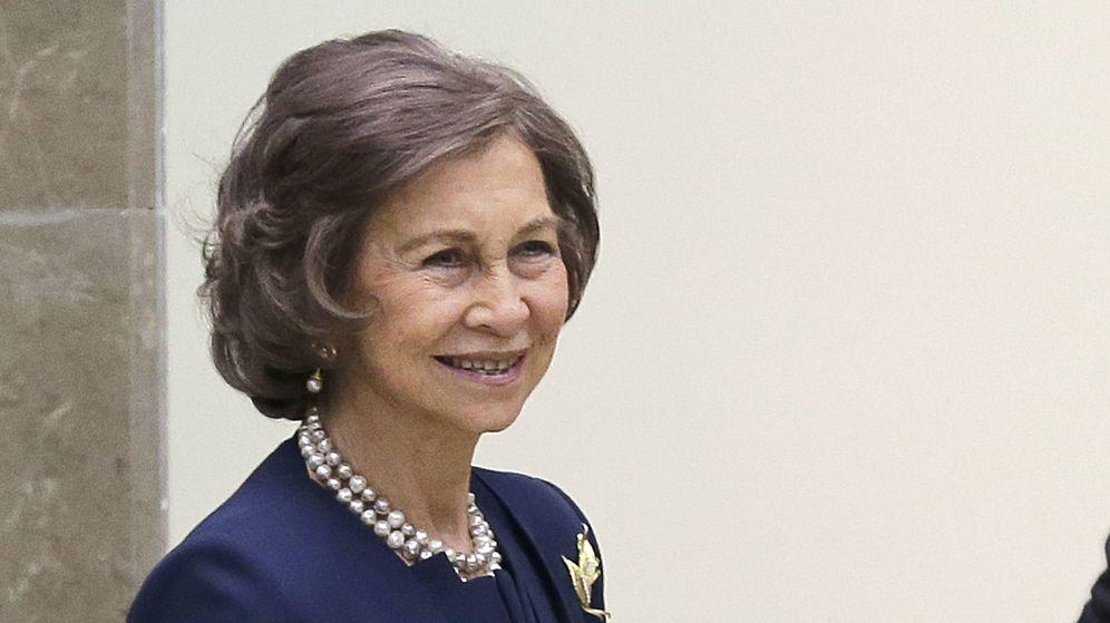 Foto: La reina Sofía en una imagen de archivo. (Gtres)