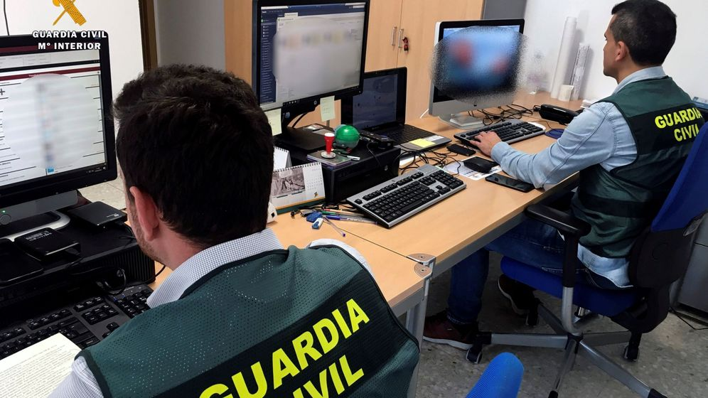 Foto: Operación de la Guardia Civil (Efe)