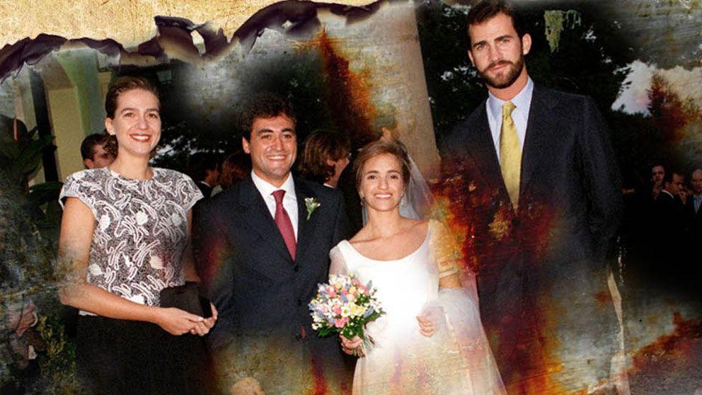 Nuria Bover, la novia en el 'entierro' de Urdangarin