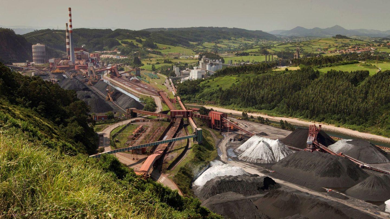 La central térmica de Aboño (Asturias). (EFE)