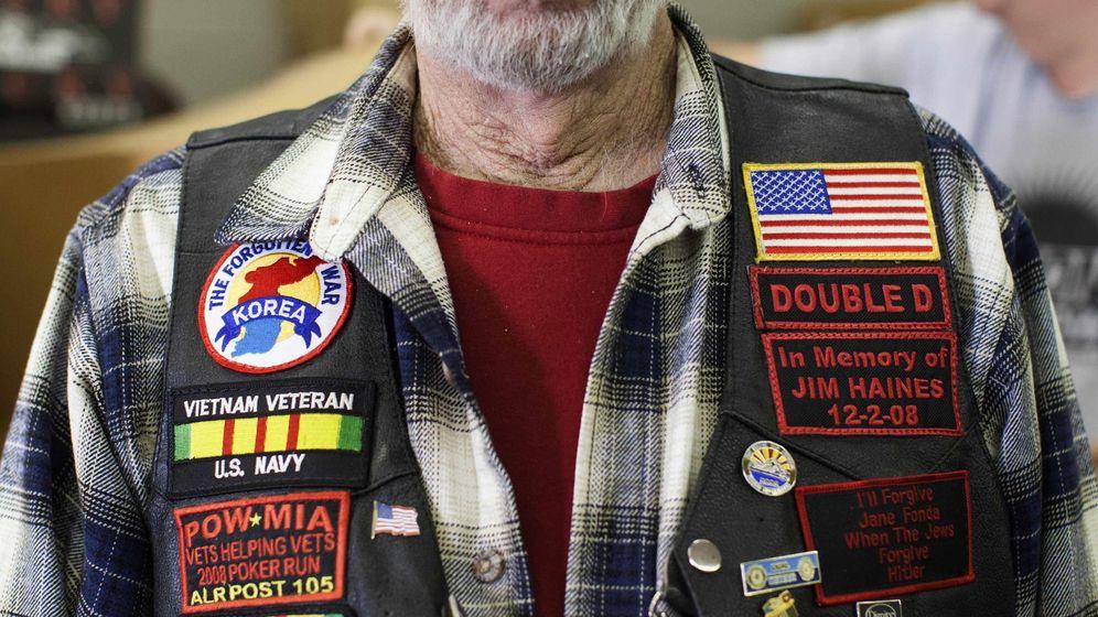 Foto: Un veterano de guerra sin hogar posa en Phoenix, Arizona, en febrero de 2014. (Reuters)