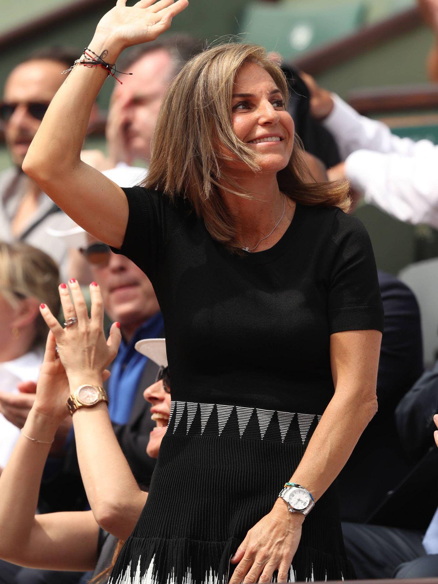 Arantxa, en el último Roland Garros. (Getty)