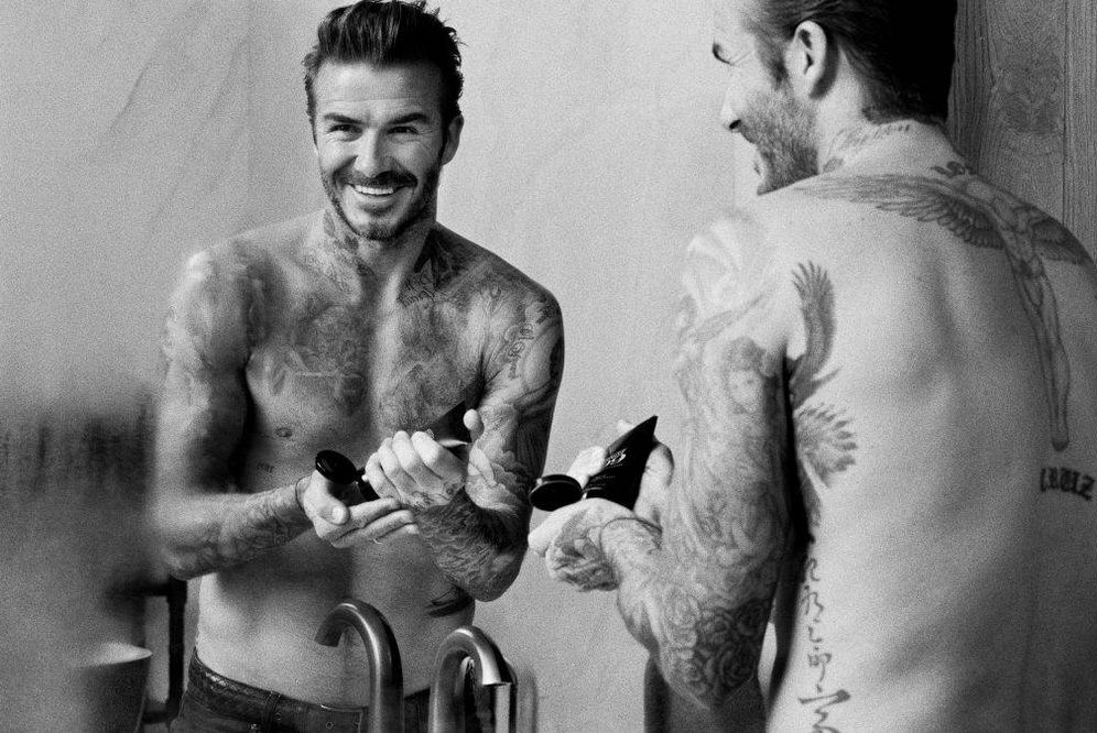 Foto: David Beckham en una imagen de House 99, su firma de cosméticos para L'Oréal.