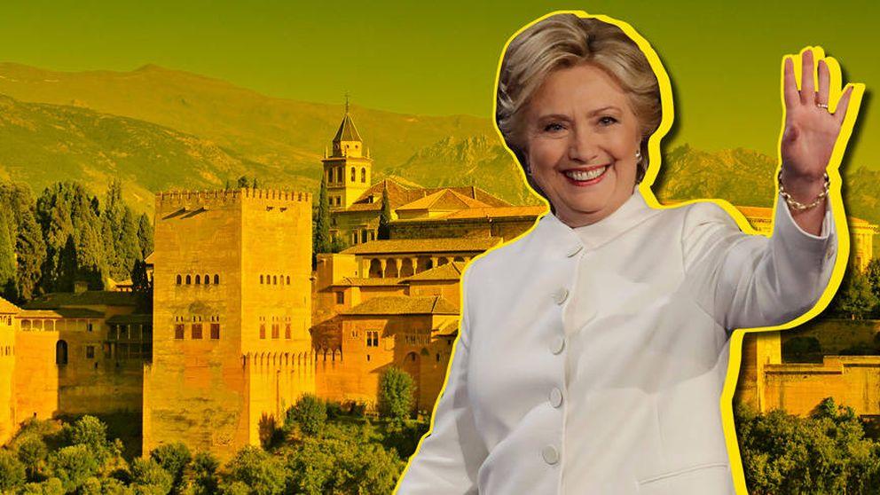 La curiosa y divertida historia de Hillary Clinton en Granada