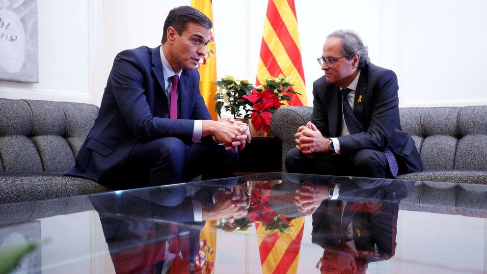 Sánchez y Torra pactan potenciar un diálogo efectivo pero dentro de la ley