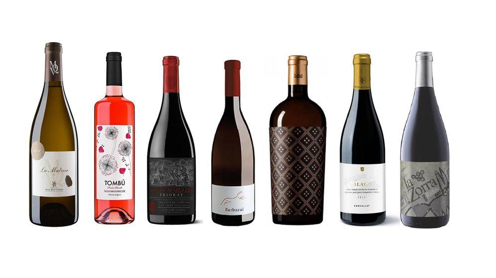 Foto: Ejemplos de estos vinos tan especiales.