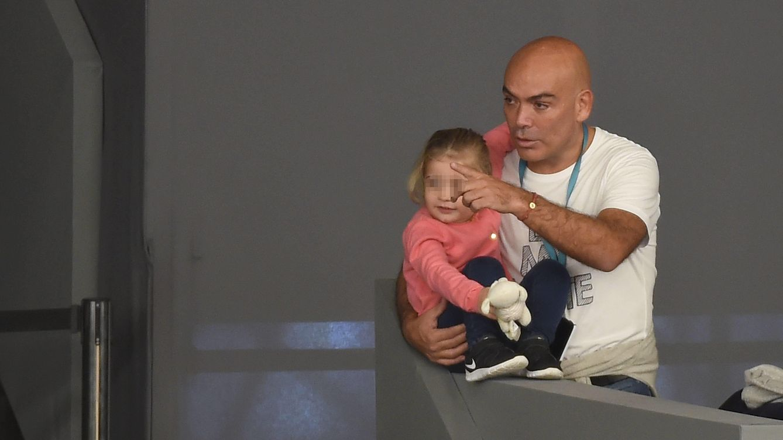 Foto: Kike Sarasola con su hija Aitana (Gtres)